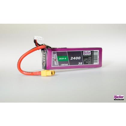 Eco-X 3S 2400mAh 20C MTAG LiPo Battery 92400331