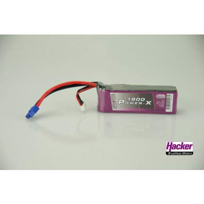 Hacker TopFuel Power-X 4S 1800mAh 35C LiPo Battery