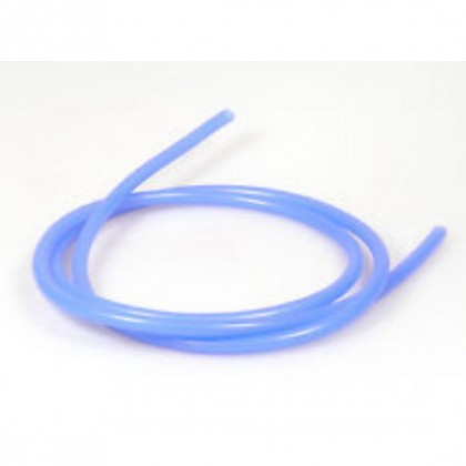 Silicone Glow Fuel Tube Clear / Blue 3mm (1/8) THICK