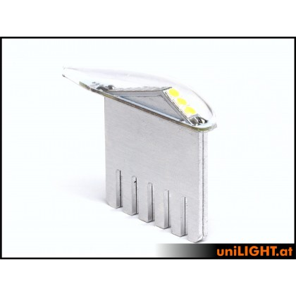 Unilight 5Wx2 Position Light 6mm White PRO6-050x2-WE