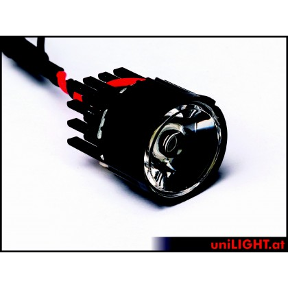 UniLight 8W Eco-Spotlight With Lens, 22mm T-Fuse White