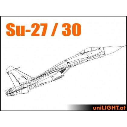 UniLight CARF SUKHOI Su-27, Su-30, Standard Scale