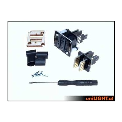 UniLight UniConnect Cable Connection Set 9 Primary 4 Secondary DIRECT (3 Servo) DIY 2 Pairs DIRECT-9P4S-DIY
