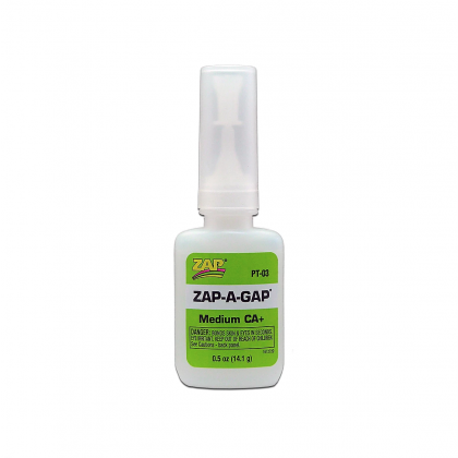 ZAP PT03 Zap-A-Gap Medium CA+ 1/2oz (medium)