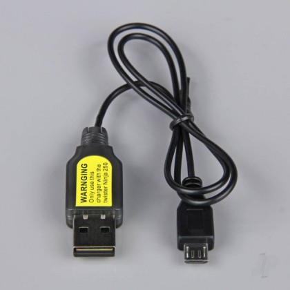 USB Charger for Ninja 250 Helicopter 1s battery TWST100123