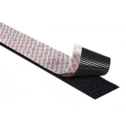 Velcro Heavy Duty Hook & Loop Tape 50mm x 250mm Genuine Velcro