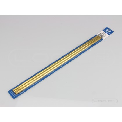 "K&S Bendable Brass Tube 12"" Pk3 3/16, 7/32, 1/4"
