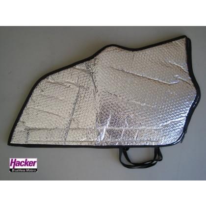 Sebart Mini Avanti S wing bags zip fastening