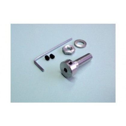 Propeller Coupler Aluminium 8/5mm