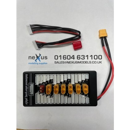 XT60 30A Parallel Charge Board