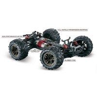 Absima Spirit 1/16 High Speed Monster Truck Red (16001)
