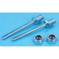 "Dubro 1-1/4"" x 5/32"" (31.75 x 4mm) Spring Steel Axle Shafts (2) DB247 011859002473"