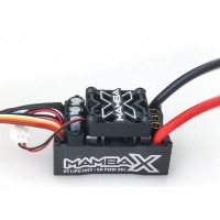 Castle Creations Mamba X Sensored 25.2V WP Esc 8A Peak Bec Datalogging CC010-0155-00