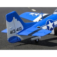 E-Flite P-51D Mustang 1.5m BNF Basic With Smart EFL01250