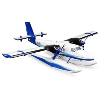 E-Flite Twin Otter 1.2m BNF Basic with AS3X and SAFE, includes Floats EFL30050