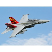 E-Flite F-18 80mm EDF BNF Basic with AS3X & SAFE Select EFL3950