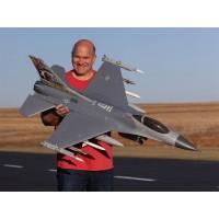 E-Flite F-16 Falcon 80mm EDF Smart BNF Basic with SAFE EFL87850