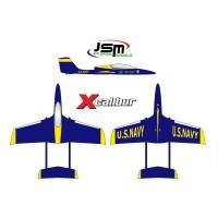 JSM Xcalibur Blue Angels Jet A-JSM001/B