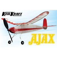 "Keil Kraft Ajax Kit - 30"" Free-Flight Rubber Duration KK2010"