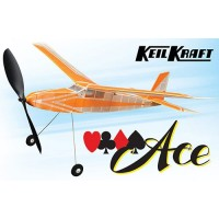 "Keil Kraft Ace Kit - 30"" Free-Flight Rubber Duration KK2020"