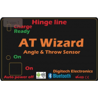 AT Wizard 2.0 from Digitech Angle & Throw Meter Bluetooth Smart Phone / Tablet Version
