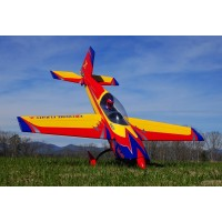 "Extreme Flight Extra 300 85"" Yellow/red/blue"