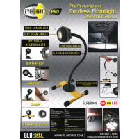 EYE-LIGHT PRO 10 Watt CORDLESS LED FLOODLIGHT with MAG BASE From GLOFORCE GLFEMF66