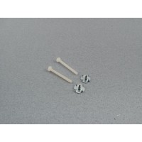 Radio Active M4 Wing Bolts and Claw Nuts PK2 (F-RAA1091)