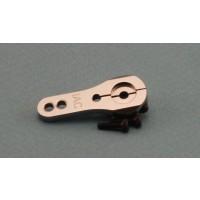 25mm CNC Double Lock Servo Arm, 3mm Holes - JR / Spektrum by Intairco IAC-620J