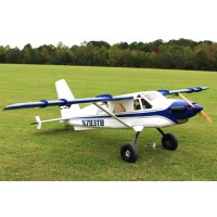 "84"" Turbo Bushmaster ARF kit - White / Blue from Extreme Flight L304BW"
