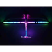 NEW E-Flite Night Radian FT 2.0m BNF Basic with AS3X SAFE & Smart  Select EFL36500