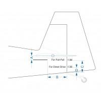 Pilot RC Slick 74in 1.88m Blue/Green 02 PIL662