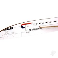 Prestige Models Concorde Alpha Foxtrot 50th Anniversary Edition Freeflight Kit PRS1002
