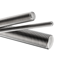 "M2.5 Stainless Steel Threaded Rod Studding M2.5 x 1000mm (39"")"