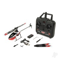Ninja 250 Helicopter with Co-Pilot Assist, 6-Axis Stabilisation and Altitude Hold (Red) TWST1001R