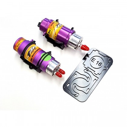 JetCat pump ER 16 + smoke pump PRO Click Holder from STV-Tech 015-15