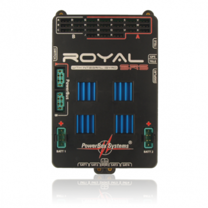 PowerBox Royal SRS iGyro With SensorSwitch, LCD Display & GPS lll Option 4710 Free Delivery