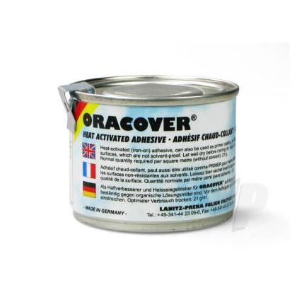Oracover Heat Activated Iron on Adhesive 0960 100ml Tin 5524781