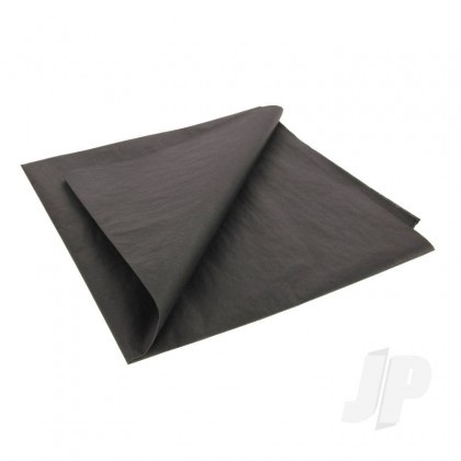 JP Stealth Black Lightweight Tissue Covering Paper, 50x76cm, (5 Sheets) 5525217