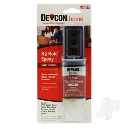 Devcon 25ml H2 Hold Epoxy (Syringe, Carded) DEV22445