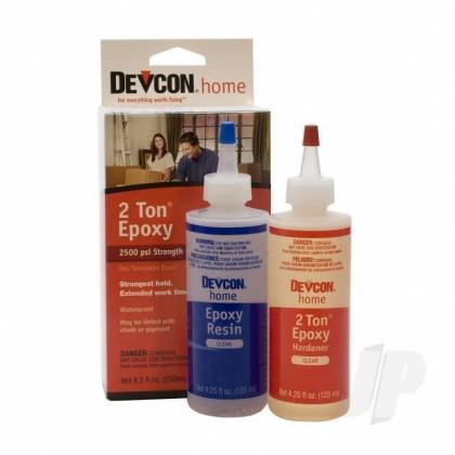 Devcon 4.5oz 2 Ton Epoxy ((Bottle), Boxed) DEV33345
