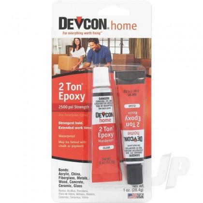 Devcon 1oz 2 Ton Epoxy (2x .5oz Tubes, Carded) DEV35345