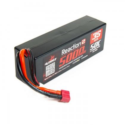 Dynamite 11.1V 5000mAh 3S 50C LiPo, Hardcase: Deans DYNB5035HD