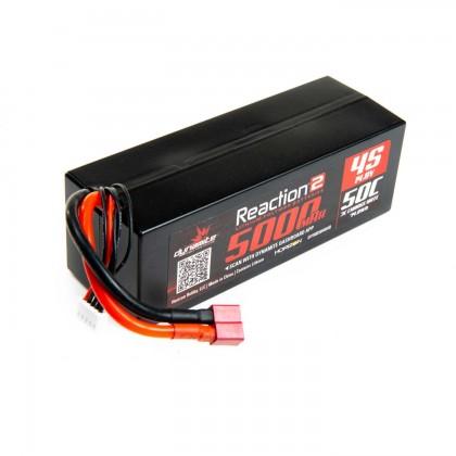 Dynamite 14.8V 5000mAh 4S 50C LiPo, Hardcase: Deans DYNB5045HD