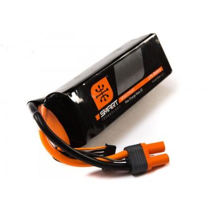 Spektrum 2200mah 3S 11.1V 30C Smart LiPo IC3 SPMX22003S30