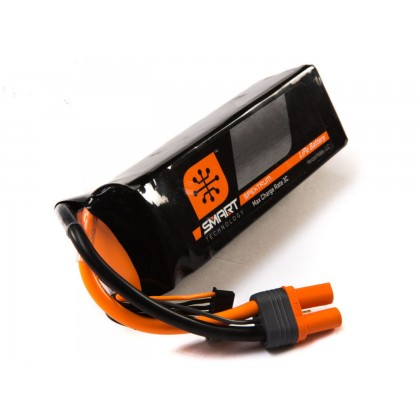 Spektrum 2200mah 4S 14.8V 30C Smart LiPo IC3 SPMX22004S30
