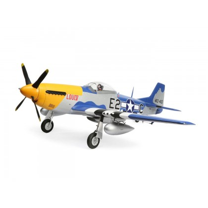 E-Flite P-51D Mustang 1.5m PNP With Smart EFL01275