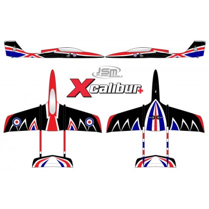 JSM Xcalibur+ RAF Scheme Jet JSM002/R Available to Order