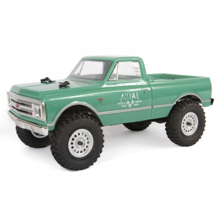 Axial 1/24 SCX24 1967 Chevrolet C10 4WD Truck Brushed RTR AXI00001T1
