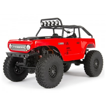 Axial 1/24 SCX24 Deadbolt 4WD Rock Crawler Brushed RTR - Red AXI90081T1
